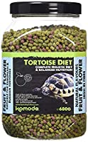 Provides a complete nutritional diet to tortoises High in fibre with a calcium to phosphorus ratio of 3: 5: 1 Moisten food before feeding, feed a small fresh supply of food morning & evening Tortoise are known not to like trying anything new but plea...