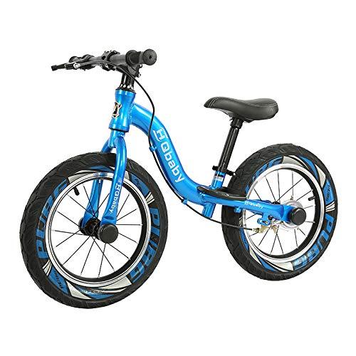 ZLI Bicicleta Equilibrio Bicicleta de Equilibrio de Niveles 14-in para Niños Grandes...
