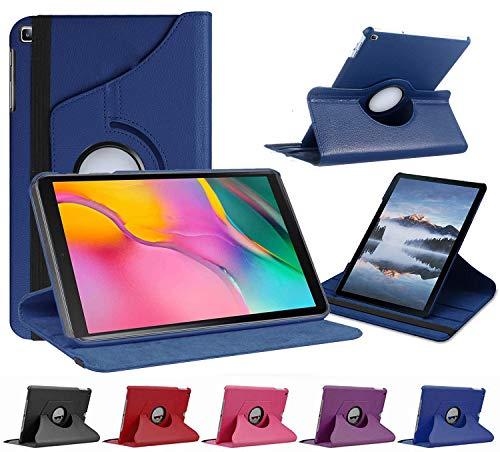 munddy- Funda GIRATORIA 360º con Soporte para Samsung Galaxy Tab A 10.1 Pulgadas SM - T510 T515 2019,rotable 360° (Azul) …
