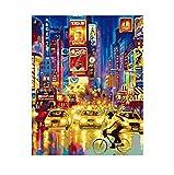 Digital Oil Painting Imprime Las Calles Del Paisaje De San Francisco Cuadros Pinturas En Arte De...