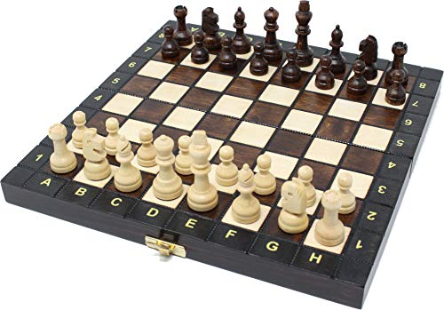 チェスジャパン 木製チェスセット スクール 27cm
