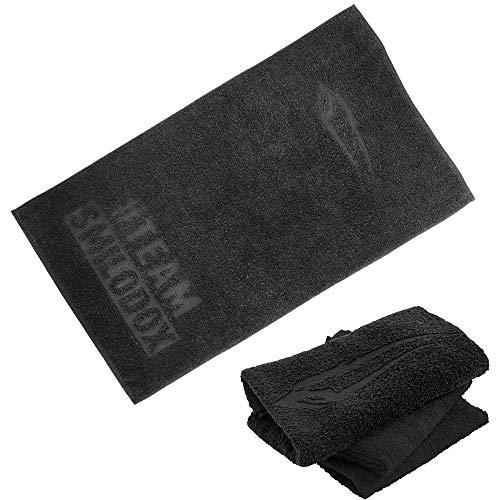 SMILODOX 39036-Handtuch, Farbe:Schwarz