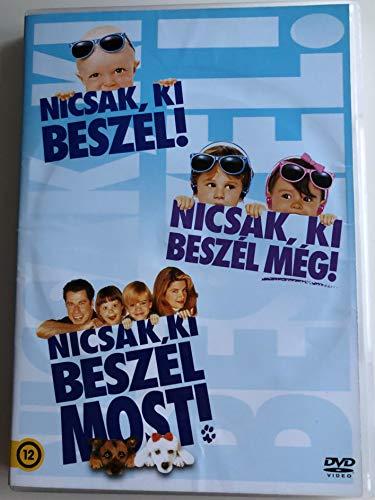 Look who's talking 3X DVD SET Nicsak, ki beszél! / Look Who's Talking too, Look who's talking now