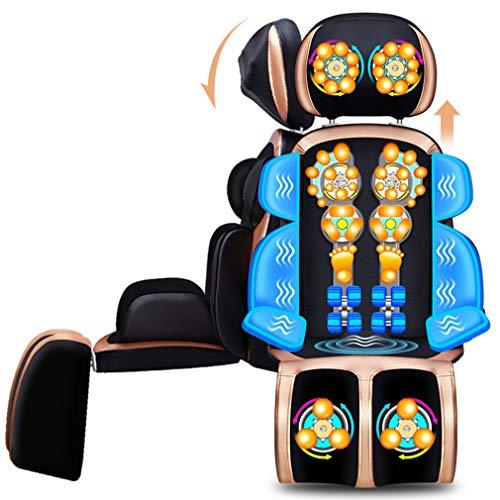 Massagekissen Nackenmassagegerät Massagesitzauflage,Nursal Rückenmassage,Shiatsu Massage Sitzkissen,mit Hitzefunktion, Massage 8D Vibration Entspannung Muskelschmerzen