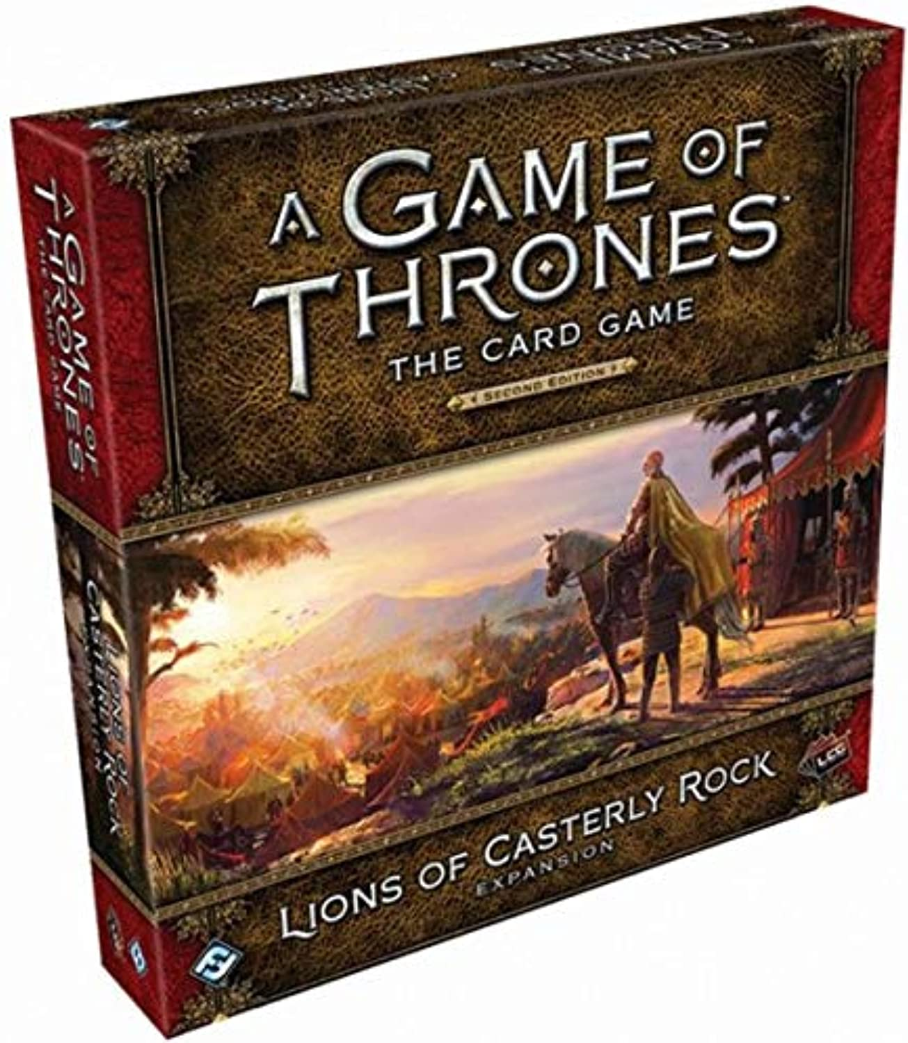 AGOT  The autod gioco 2nd Ed.  Lions of Casterly Rock (Exp.) (engl