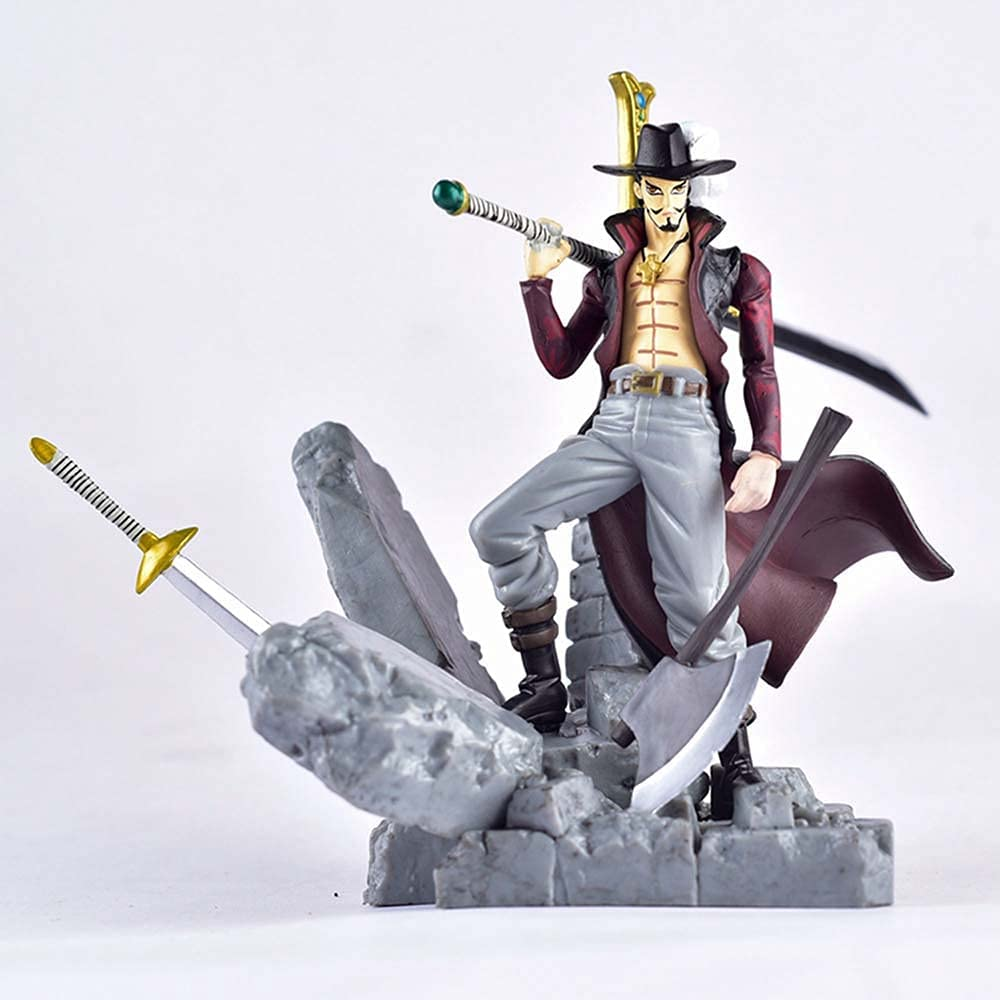 MICOKID Directly Manufacturer OFFicial shop managed store One Piece Dracule Mihawk GK Ornaments Doll Static Statue