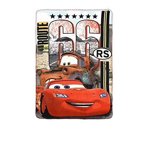 Cars Sun City 2018 Manta de Viaje, 150 cm, Rojo