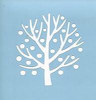 ファインホームのステンシルシート 木の実 fh-334