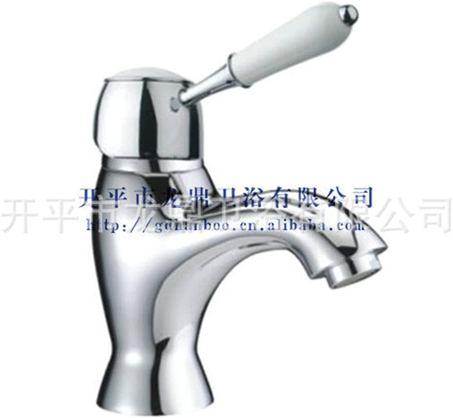 Hlluya Professional Sink Mixer Tap Kitchen Faucet The copper material single handle single hole faucet hot and cold faucets basin mixer full copper fittings