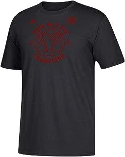 adidas Atlanta United FC Men's Black 2018 MLS Cup Roster T-Shirt