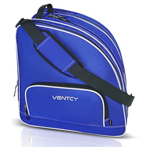 VENTCY Inliner Tasche, Skischuhtasche Kinder, Rollschuhe Tasche, Tasche für Inliner, Eislauf Inliner Tasche Kinder, Rollschuhe Tasche, Skatertasche für Kinder/Erwachsene Blau