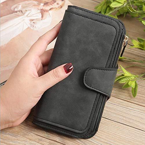 MODYL Portemonnee Dames Koreaanse Lange Portemonnee Card Tas Koppelingstas