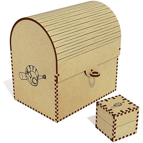 Azeeda 'Baseballschläger und Handschuh' Groß Schatztruhe / Schmuckschatulle (TC00021635)
