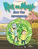 Rick And Morty Spot The Difference: Rick And Morty Adult Spot The Differences Activity Books For Women And Men