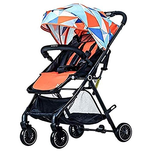 Review Byrhgood The Stroller High Landscape Can Be Seated and Folded for Easy and Portable, 3 Colors...
