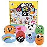 Luna Bear Rock Painting Kit for Kids 6-12 - Includes...