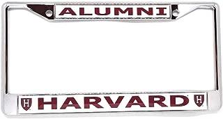 Harvard University Alumni H Logo Chrome License Plate Frame