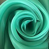 Megachest Satin-Organza-Stoff in 12 Farben zur Dekoration,