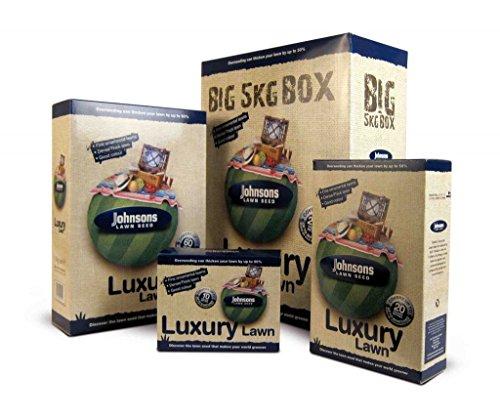 Decco Ltd Johnsons 591800 Luxury Semences de Gazon 500 g