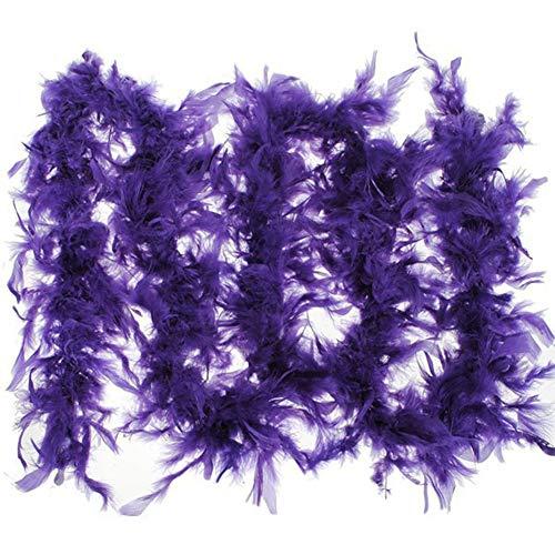 1 stuk 37 g 2 meter Turkse veer bruiloft Marabou veren Boa Burlesque fantasie jurk decoratie