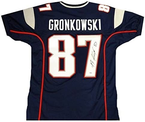 Rob Gronkowski JSA Signed Patriots Jersey at Amazon's Sports ...
