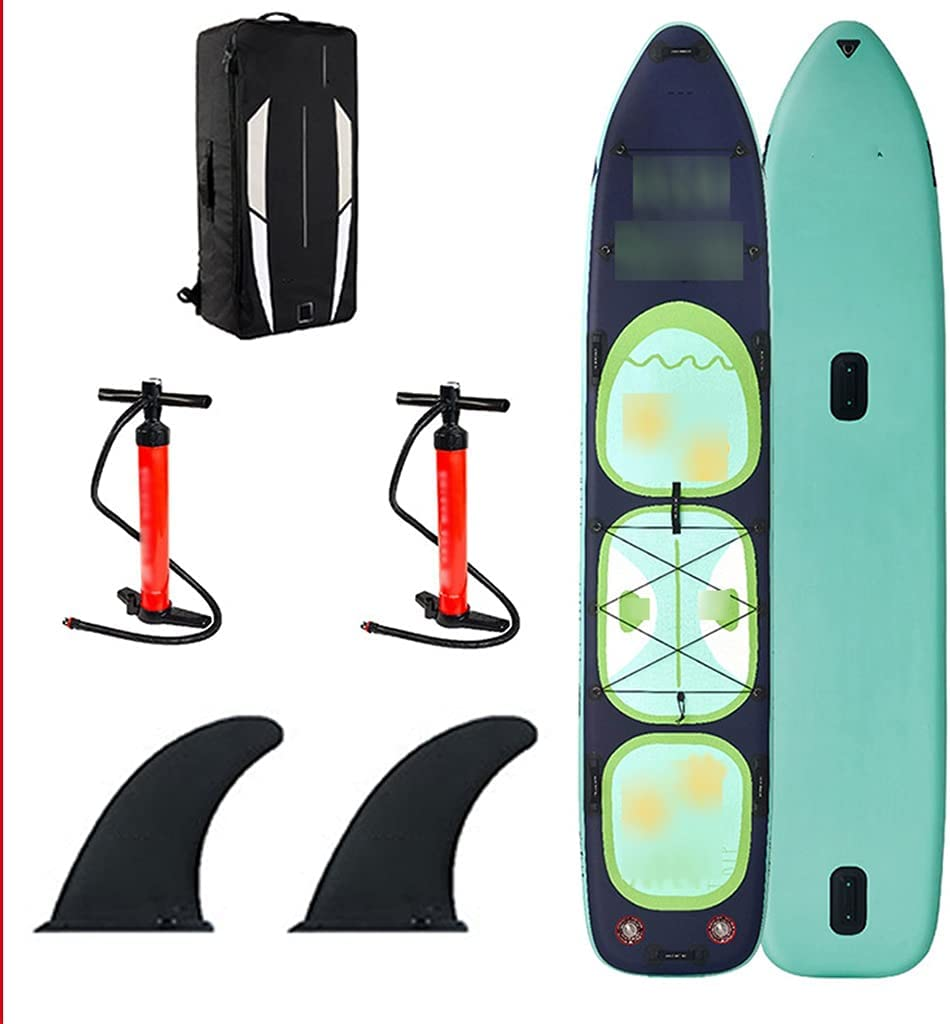 Surfboards 5 popular Inflatable Stand Max 79% OFF Up Paddle 14' SUP Board I Set