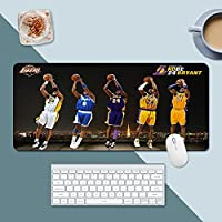NBA神戸大型ゲームマウスパッド 拡張デスクマット 長さインチ 滑り止めゴムデスクパッド ゲーマー オフィス ホーム用-A4_400*900*3
