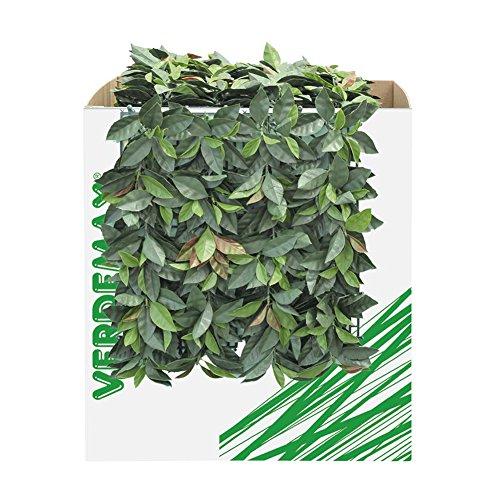 Verdemax 5635 50 x 50 cm verdecor heggenschaar met bladeren zoals glansmispels