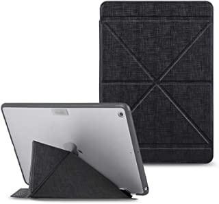 Moshi - VersaCover for iPad 10.2-inch, 7th Gen. - Reinforced Frame, Soft Microfiber and Supports Auto-Wake/Sleep, (Metro B...