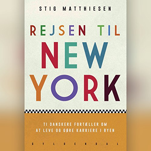 Rejsen til New York audiobook cover art