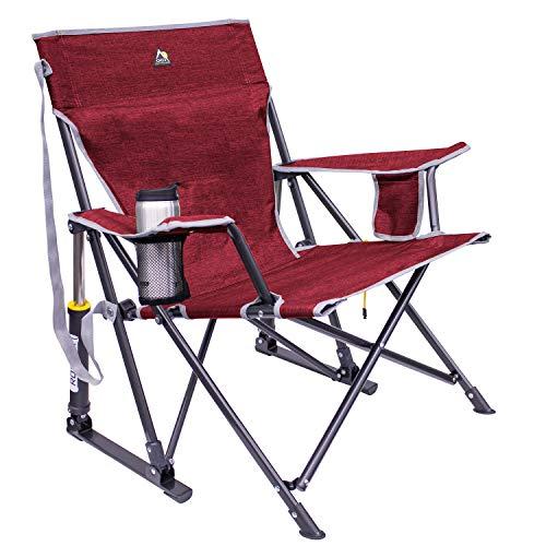 GCI KickBack Rocker Chair, Heathered Red