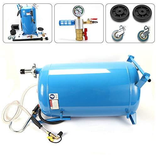DIFU Ölabsauggerät Ölabsauger Druckluft Ölwechsel Öl Absauggerät Auto KFZ Altölsammelgerät mit 76 L Tank für Ölwechsel und Ölentnahme