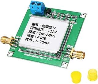 MagiDeal DC12V RF Broadband Amplifier Receiver , 1 MHz-2 GHz,32dB: 0.01-2000MHz gain 32dB,64dB: 0.1-2GHz gain 64dB, Size: ...