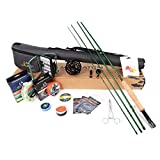 M MAXIMUMCATCH Maxcatch Premier Fishing Rod and Reel Combo Complete 9' Fishing Outfit (5 wt -9'...