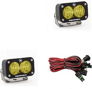 Baja Designs 54-47815 Amber S2 Sport Pair Wide Cornering LED
