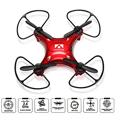 Drone, soled Portable Pocket Quadcopter, 2.4G Hz 6 Axis Gyroscope 4 Channel four-axial Drone, Quadcopter with Remote Control, 360° 3D Flip & Roll, Headless Mode and One Key Return Home