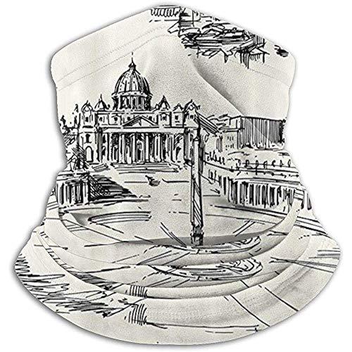 Xian Shiy Ghetta scaldacollo Venezia Pisa Firenze Pisa, copri maschera da sci in pile polare per il freddo invernale e tenere al caldo