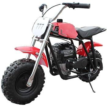 X-PRO 40cc Kids Mini Dirt Bike Pit Bike Gas Power Bike Off Road Motorcycle,Red