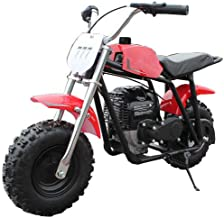 X-PRO 40cc Kids Mini Dirt Bike Pit Bike Gas Power Bike Off Road Motorcycle?Red
