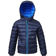 Rokka&Rolla Boys' Ultra Lightweight Packable Down Puffer Jacket Coat