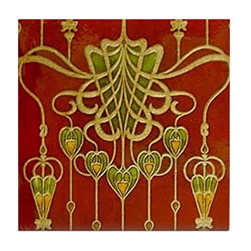 CafePress Art Nouveau Tapetenuntersetzer, Untersetzer für Getränke, klein