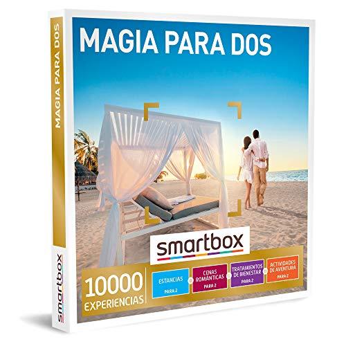 Smartbox - Caja Regalo Amor para Parejas - Magia para Dos - Ideas Regalos Originales - 1 Experiencia de Estancia, gastronomía, Bienestar o Aventura para 2 Personas