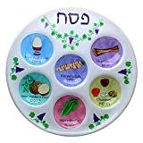 Disposable Plastic Seder Plate for Passover (Pack of 10)...