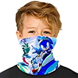 Kids Boys Girls Colorful Crystal Polygonal Multifunctional Seamless Bandanas Headband Scarf Headwrap Neck