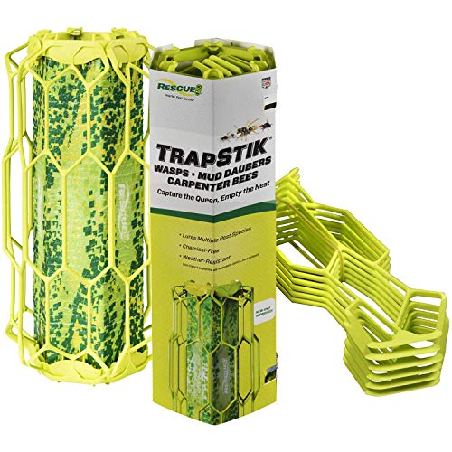 RESCUE! TrapStik for Wasps, Mud Daubers, Carpenter Bees