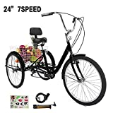 Best Adult Tricycles - SURPCOS Adult Tricycle Cruise Bike Full Size 3 Review