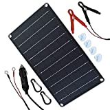 TP-solar 10 Watt 12 Volt Solar Panel Car Battery Charger 10W 12V Portable Solar Trickle Battery Maintainer with...