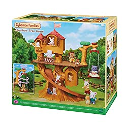 There are so many ways to play with this fun tree house! The swing can go up and down and work as a lift Place log rides on the huge slide to make them slide down Sylvanian Families' miniature dollhouses playsets and figures are timeless and classic ...