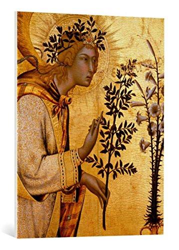 Kunst für Alle Cuadro en Lienzo: Simone Martini The Annunciation to Mary...