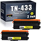 WedInk WE-Yellow-TN-433/TN433Y-2 Pack